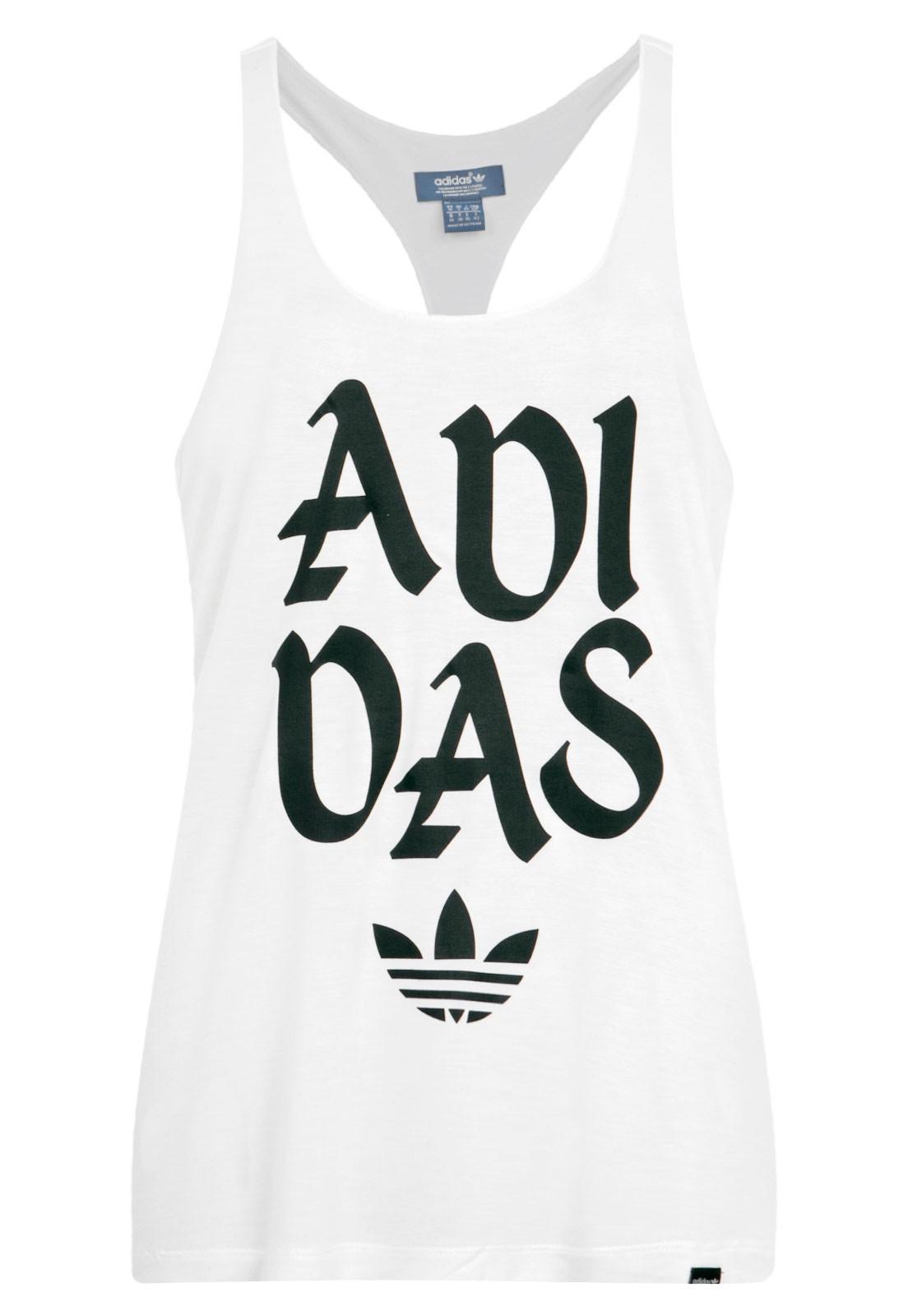 Regata Adidas Originals Graphic Branc